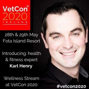 Karl Henry - Fitness WellnessVetCon 2020